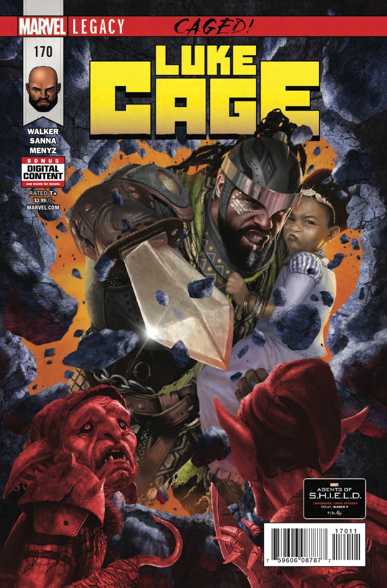 Marvel Preview: Cage #170