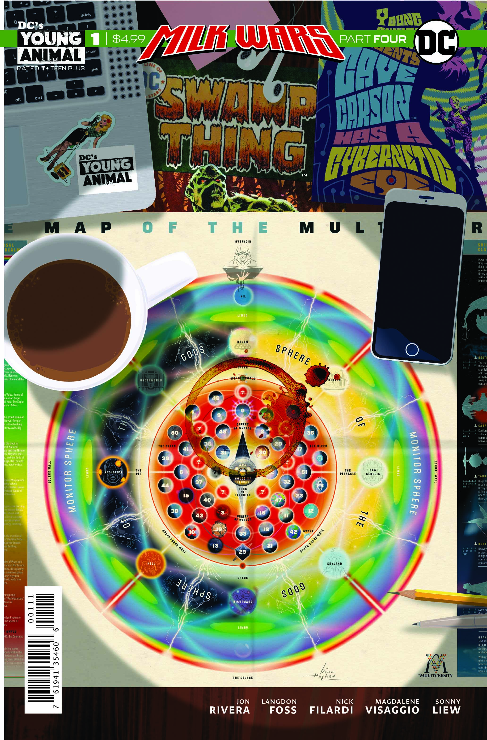 Cave Carson has a Cybernetic Eye/Swamp Thing Special review: Milk Wars Part Four!