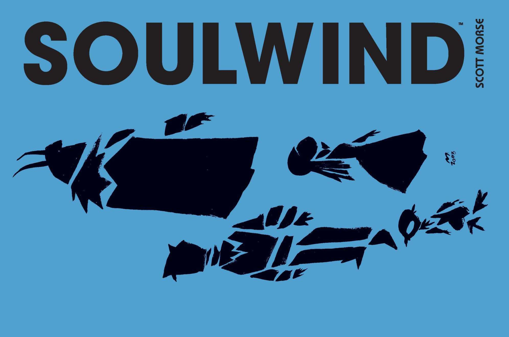 Do yourself a favor and pick up 'Soulwind' in hardcover