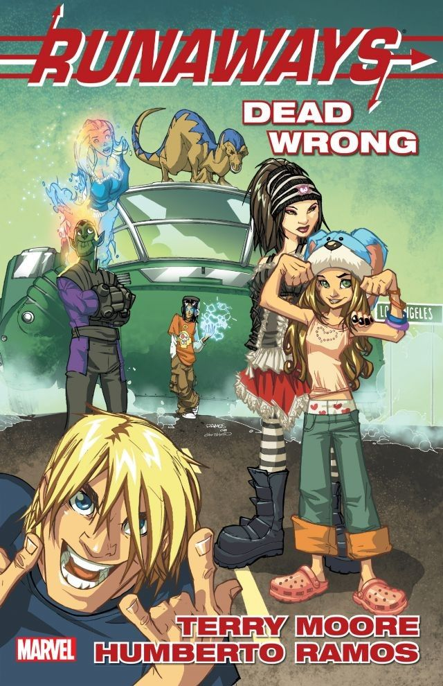 'Runaways' volume 9 gets a reissued trade paperback this week.