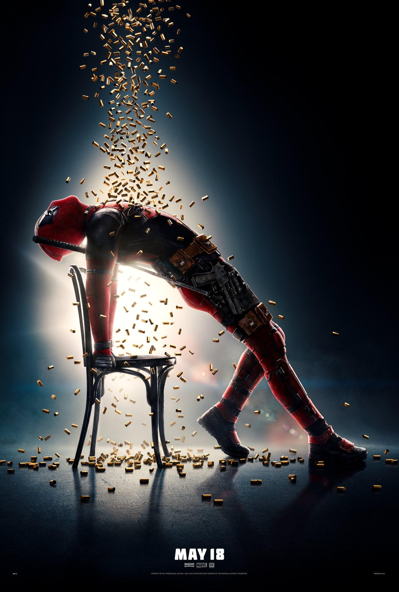 It's time to flash dance with Deadpool in this new poster