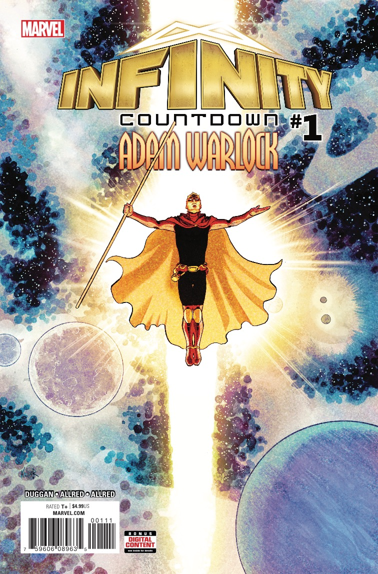 Infinity Countdown: Adam Warlock #1 Review