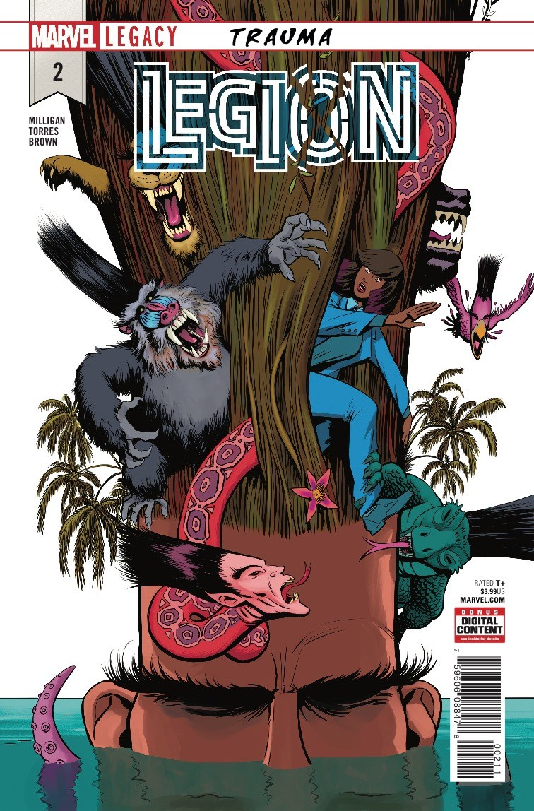 Legion #2 review: Trippy visuals won't save this dull story