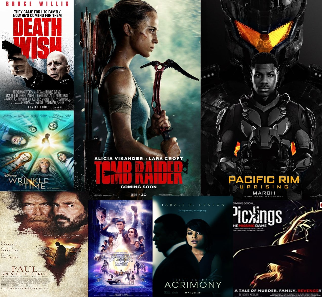 Movies to look forward to in March 2018