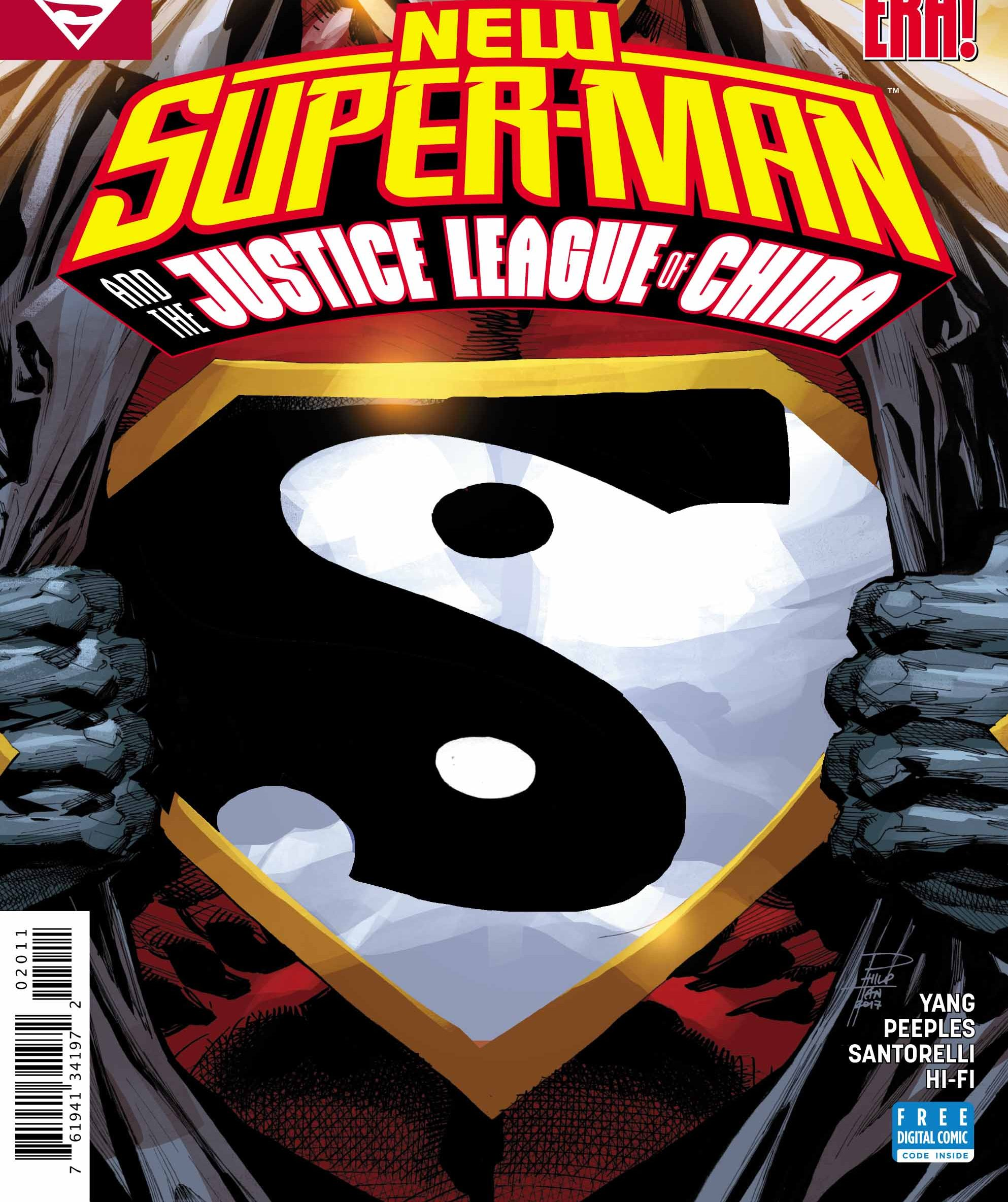 New Super-Man and the Justice League of China #20 Review