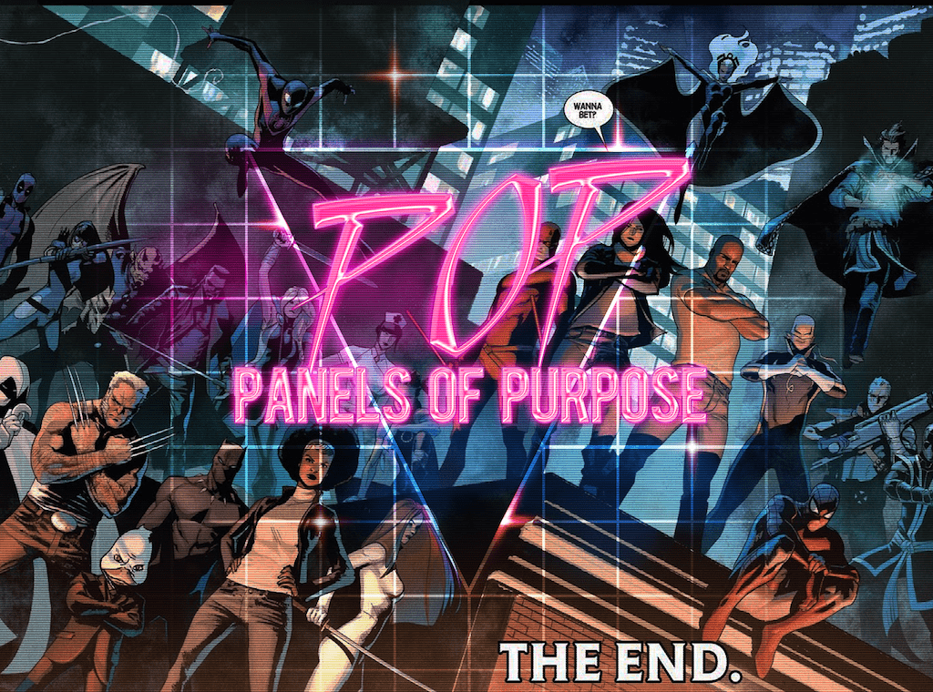 Monthly POP: Panels of Purpose - February 2018