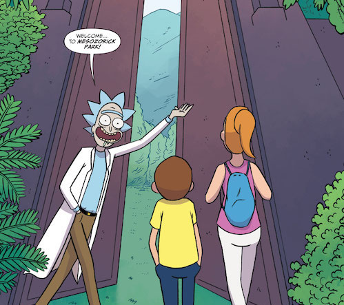 Oni Preview: Rick and Morty #35