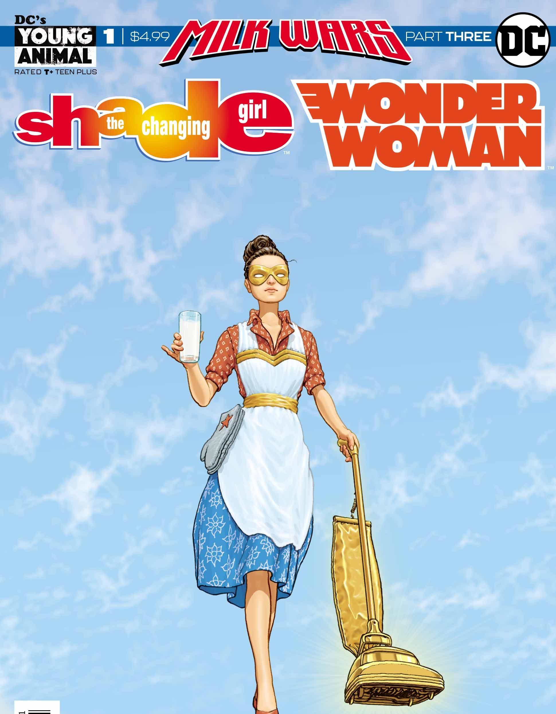 Shade the Changing Girl/Wonder Woman Special #1 Review. Milk Wars Part Three!
