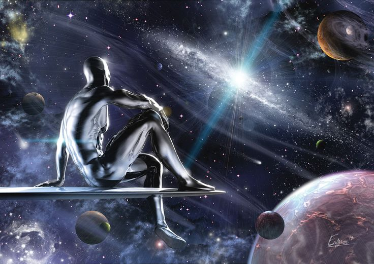 Fox is working on a Silver Surfer movie, written by Brian K. Vaughan