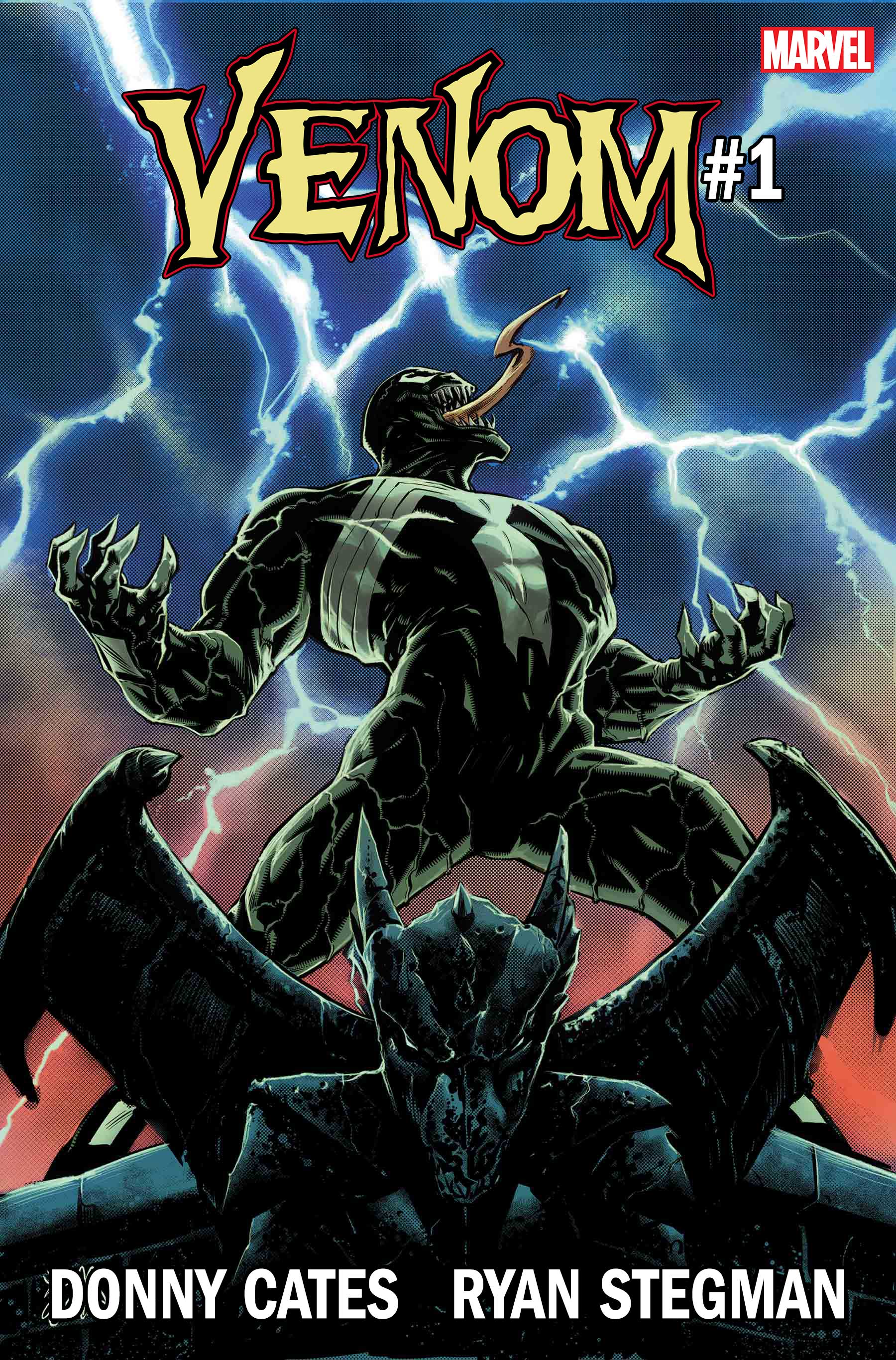 Venom gets a new beginning and creative team Donny Cates and Ryan Stegman