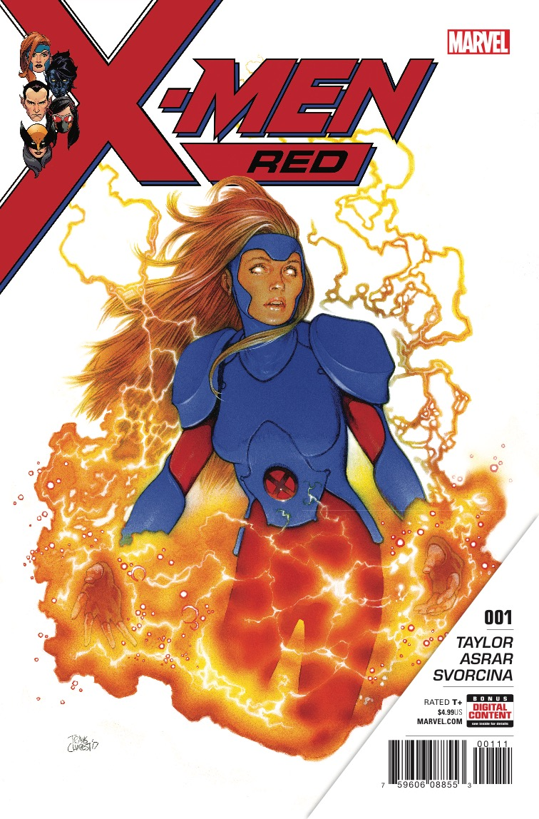 The resurrected Jean Grey isn't wasting any time trying to save the world in X-Men Red #1.