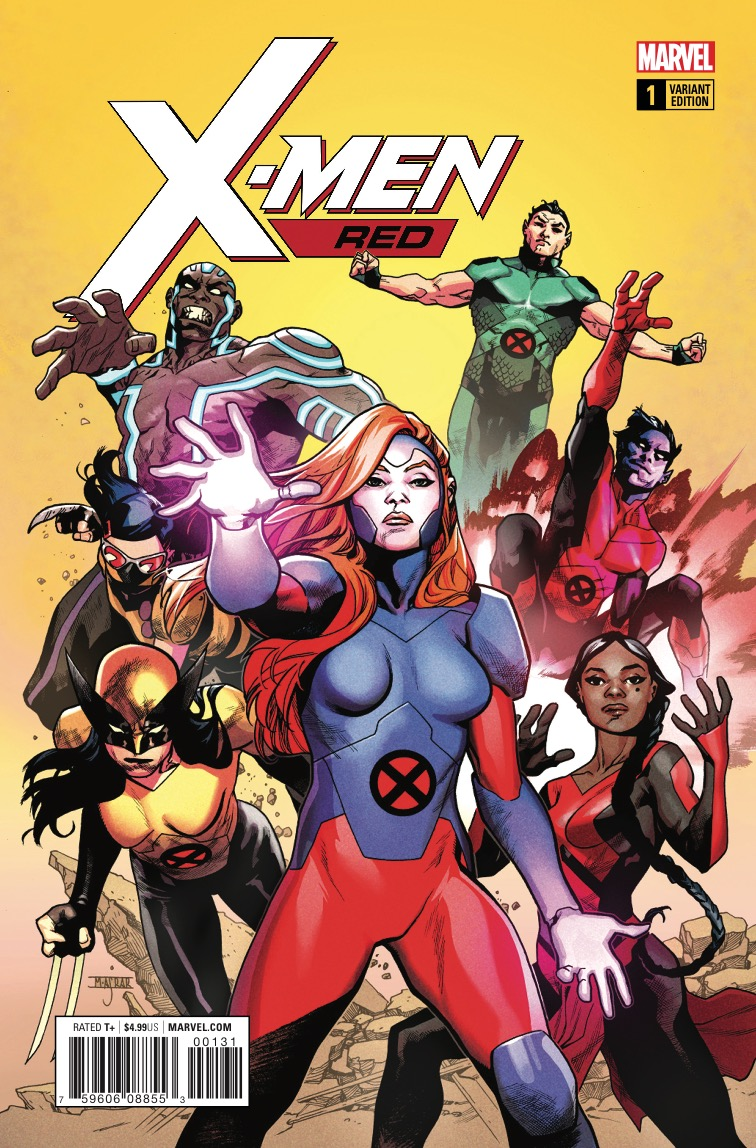 Marvel Preview: X-Men Red #1