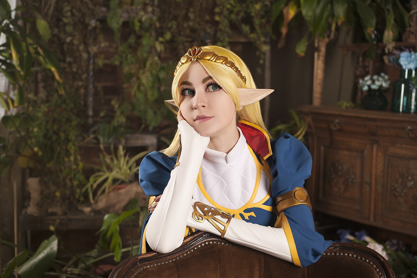 The Legend of Zelda: Breath of the Wild cosplay by Nataliya