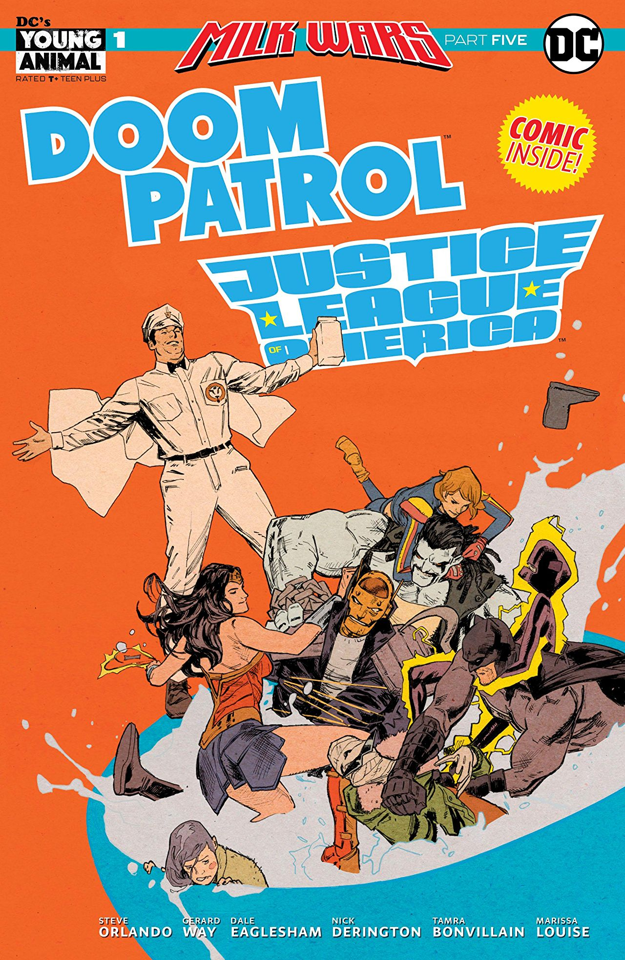 Doom Patrol/Justice League of America Special #1 Review: Milk Wars ends here!