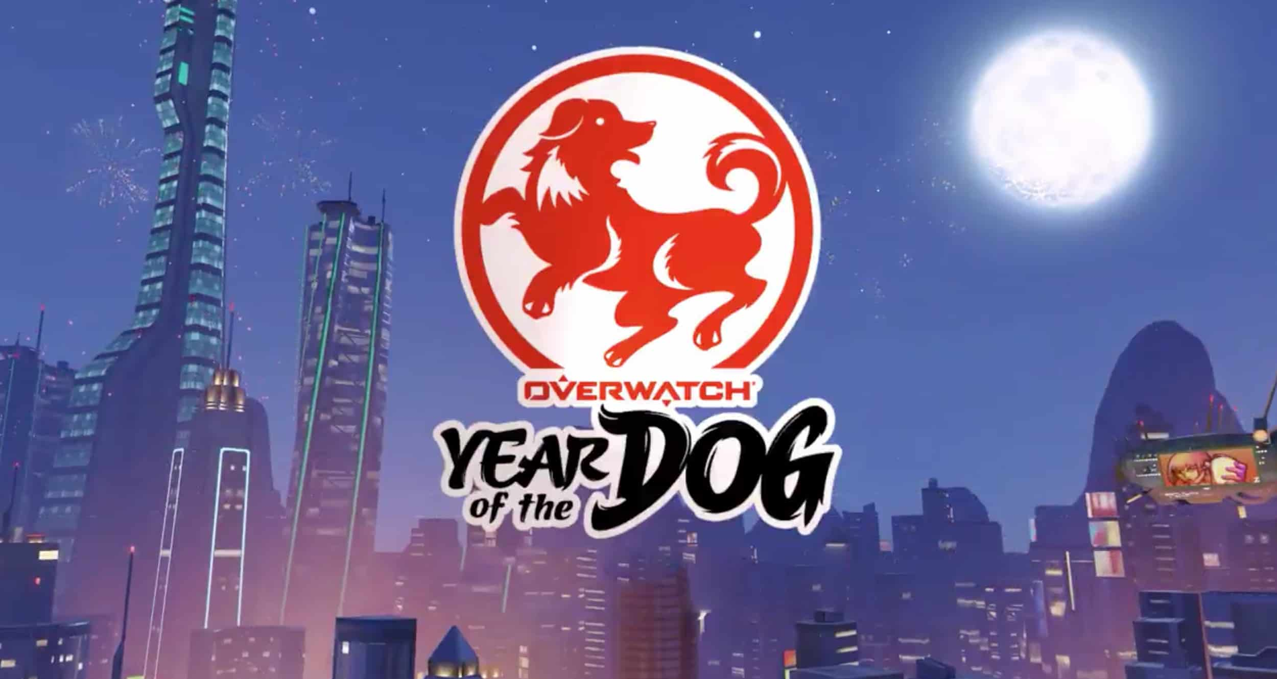 It's time to celebrate with Overwatch's newest Lunar New Year Event, Year of the Dog