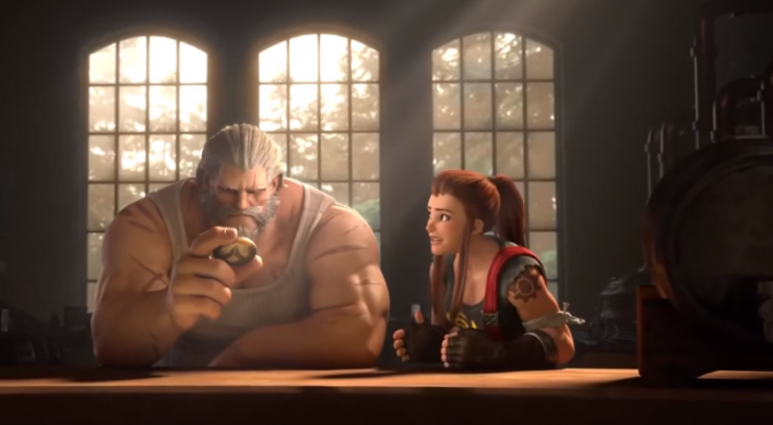 Teasers and an accidental tweet point to Overwatch's newest hero, Brigitte
