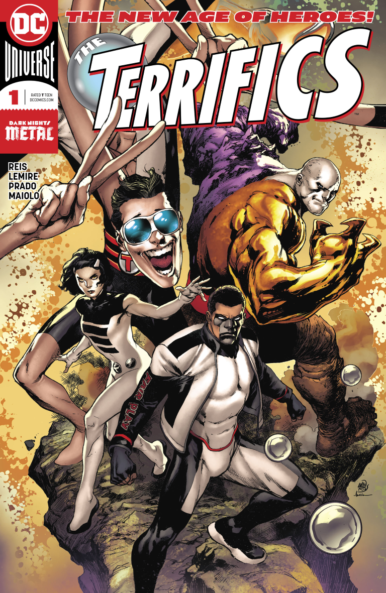 "The Terrifics #1 review: A well-crafted adventure that doesn't quite fit the ""Fantastic"" shoes it set out to fill"