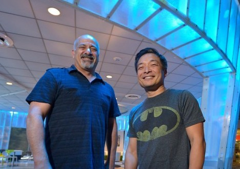 Jim Lee and Dan DiDio  host first ever live broadcast of WonderCon publishers panel