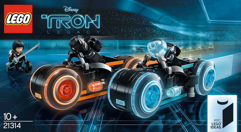 Get ready to ride with new LEGO 'Tron: Legacy' Light Cycle set