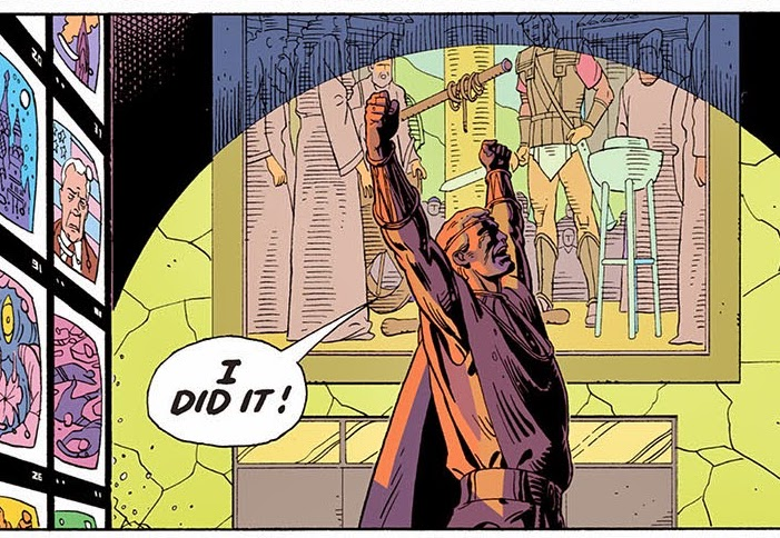A major Ozymandias reveal changes a defining moment from Watchmen in 'Doomsday Clock' #4