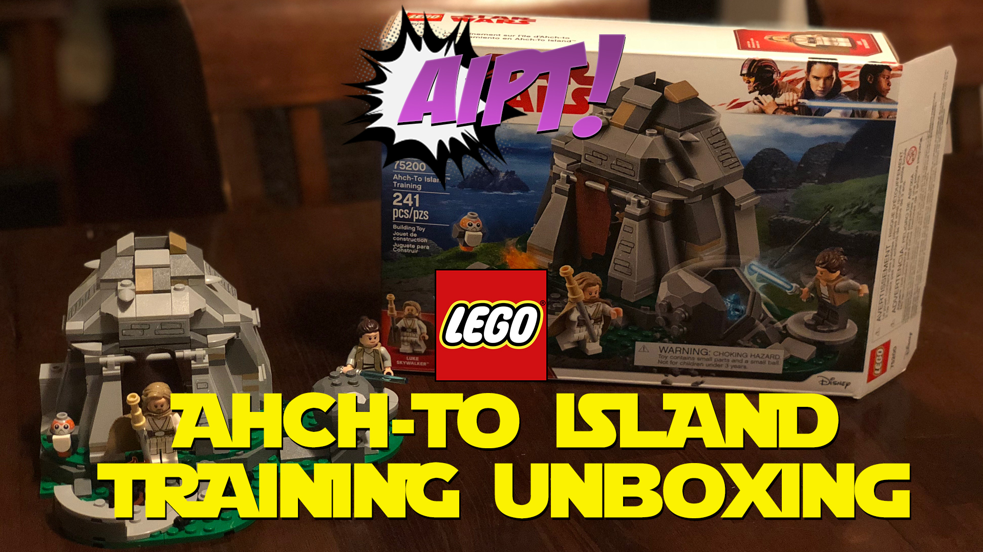 Unboxing/Review: LEGO Star Wars Ahch-To Island Training