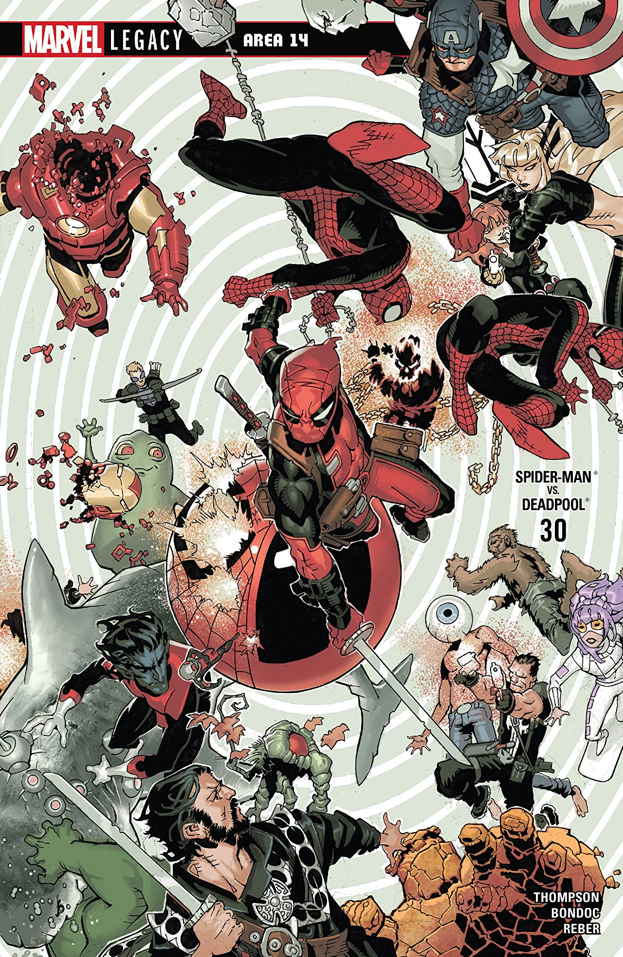Marvel Preview: Spider-Man/Deadpool #30