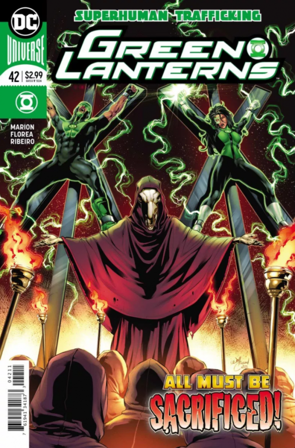 Green Lanterns #42 review: Falling completely flat