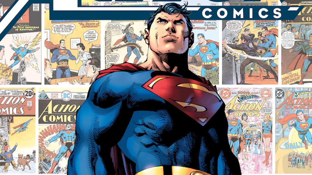 Honor the history of 'Action Comics' with this healthy dose of issues and commentary.