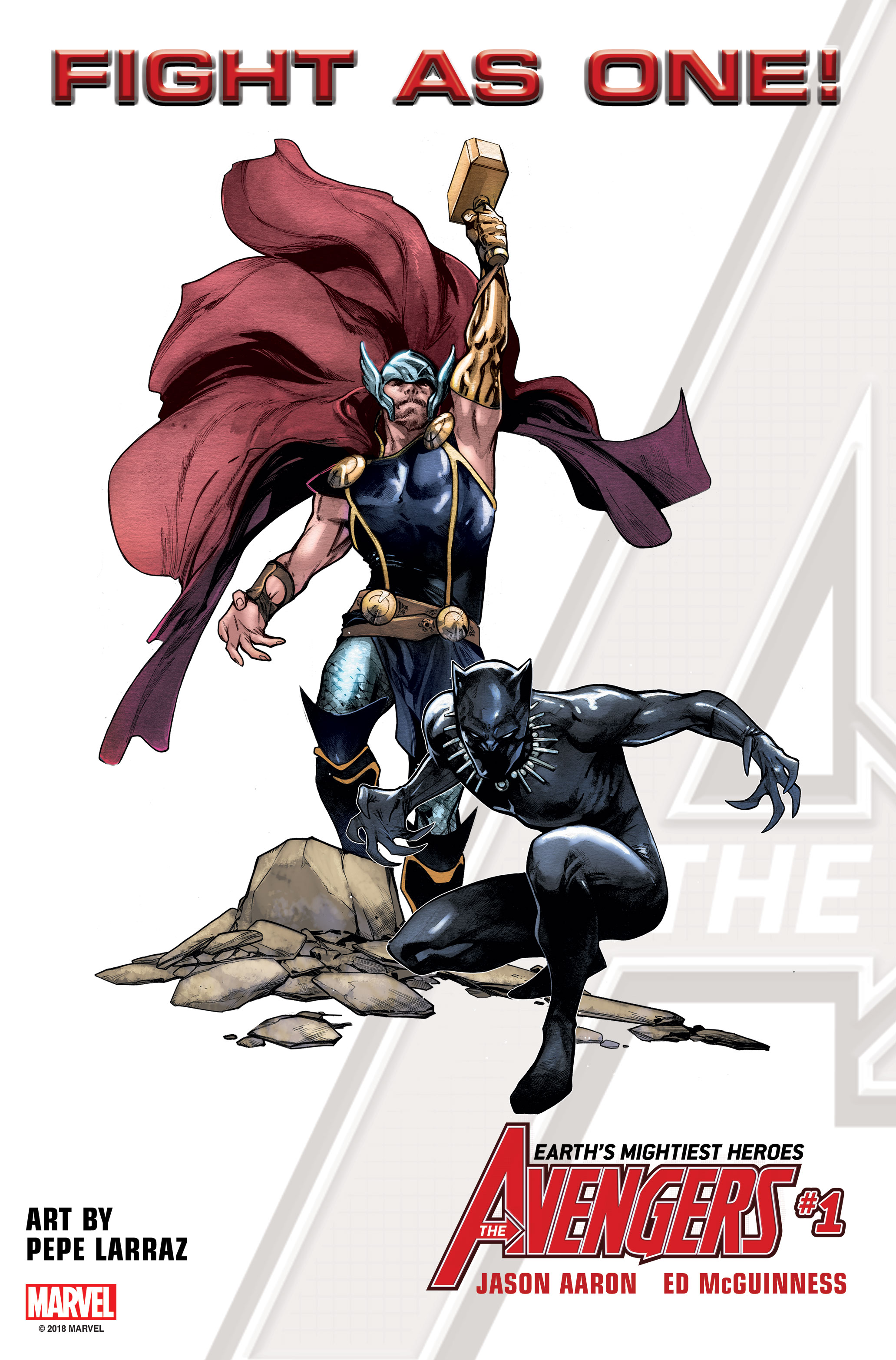Marvel Comics reveals the new Avengers roster which includes Black Panther