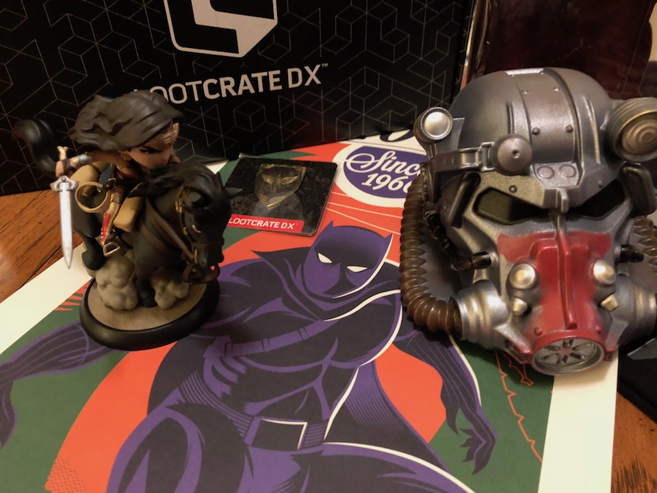 Unboxing/Review: February 2018 Loot Crate DX