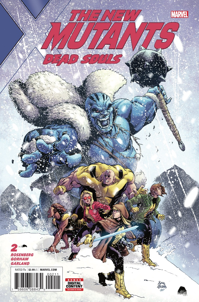 New Mutants: Dead Souls #2 review: The New Mutants entertain despite an ordinary story