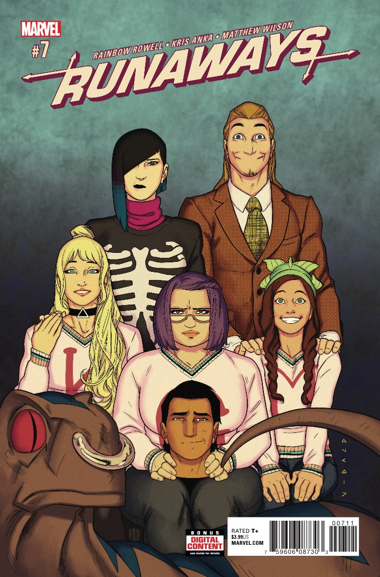 Marvel Preview: Runaways #7