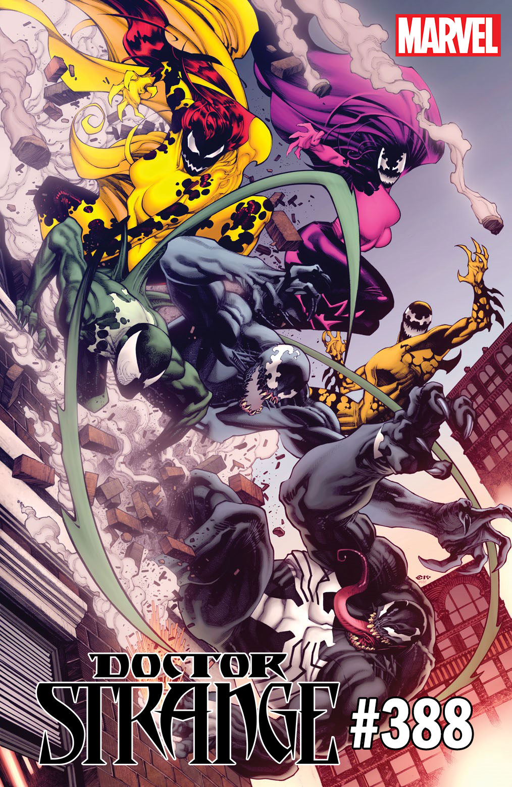 Venom 30th Anniversary variant covers arrive this March