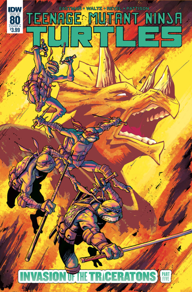 Teenage Mutant Ninja Turtles #80 Review