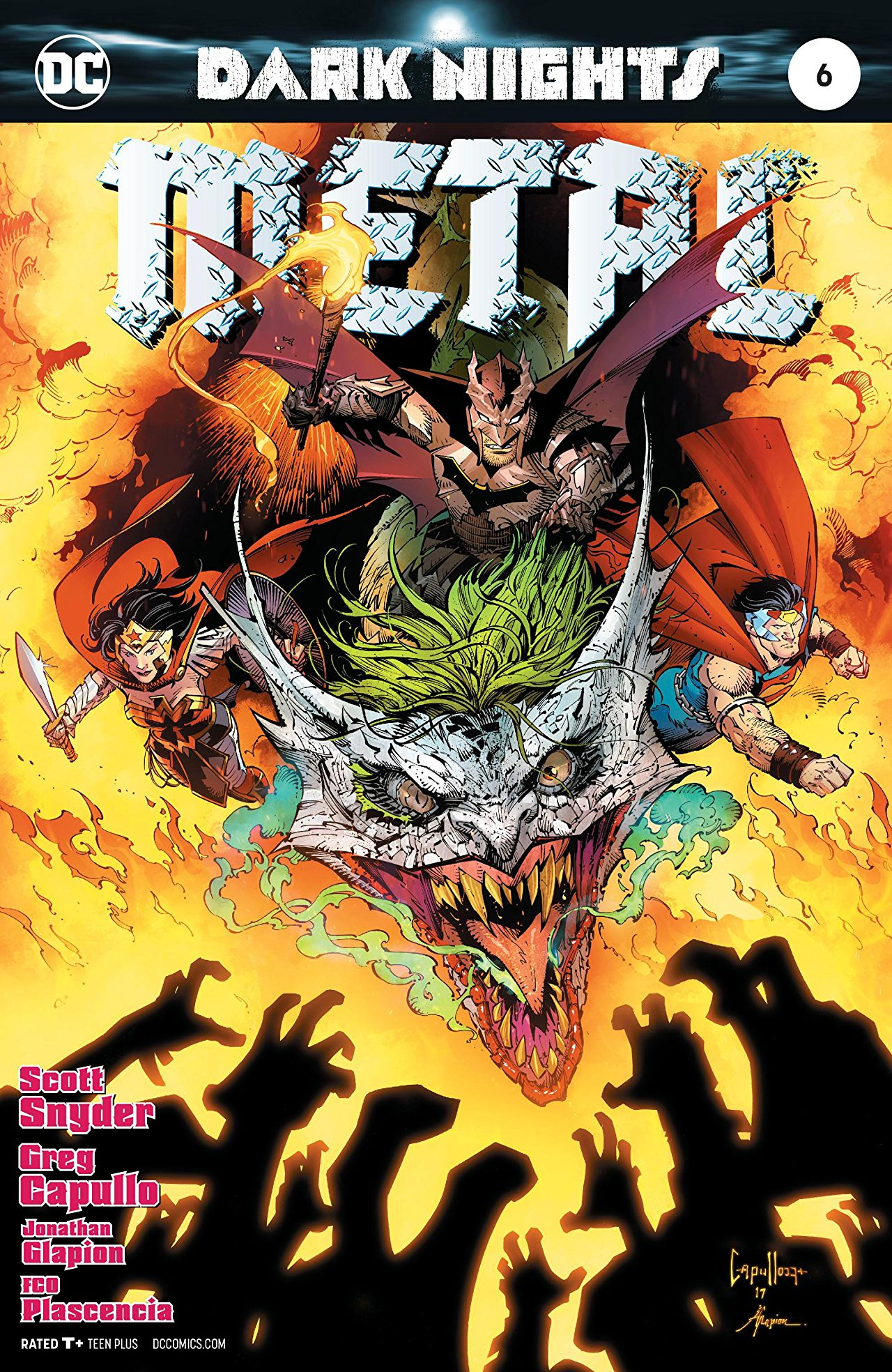 Dark Nights: Metal #6 review: An ending worthy of the hype | AiPT!