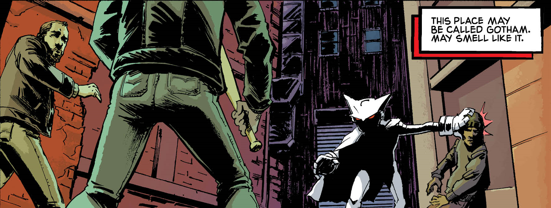 Mother Panic Gotham A.D. #1 Review