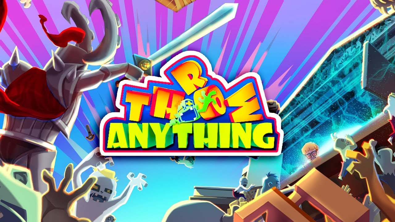 Crazy VR game 'Throw Anything' has launched on Vive/SteamVR