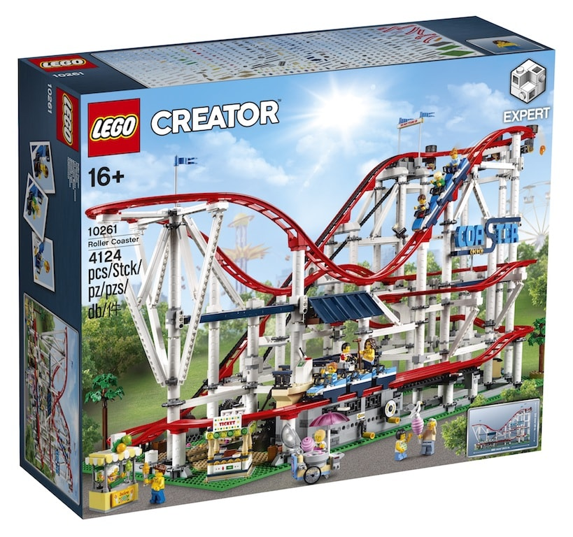 First Look: LEGO Creator Expert: Roller Coaster - Get in the mood for summer