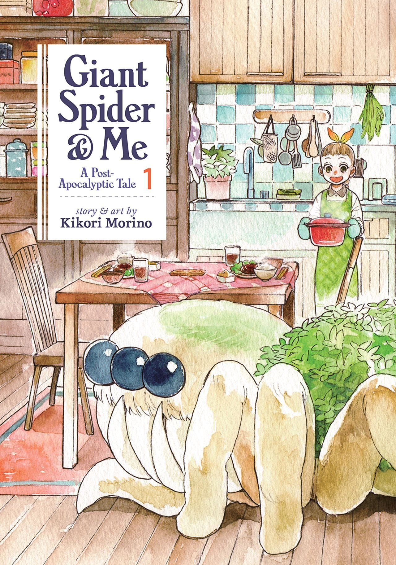 A heartwarming story about the friendship between a little girl and her gigantic mutant spider.