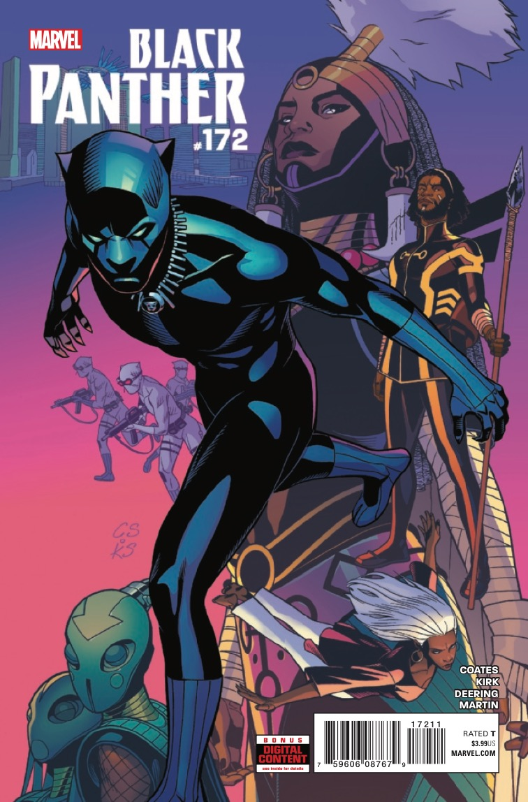Marvel Preview: Black Panther #172