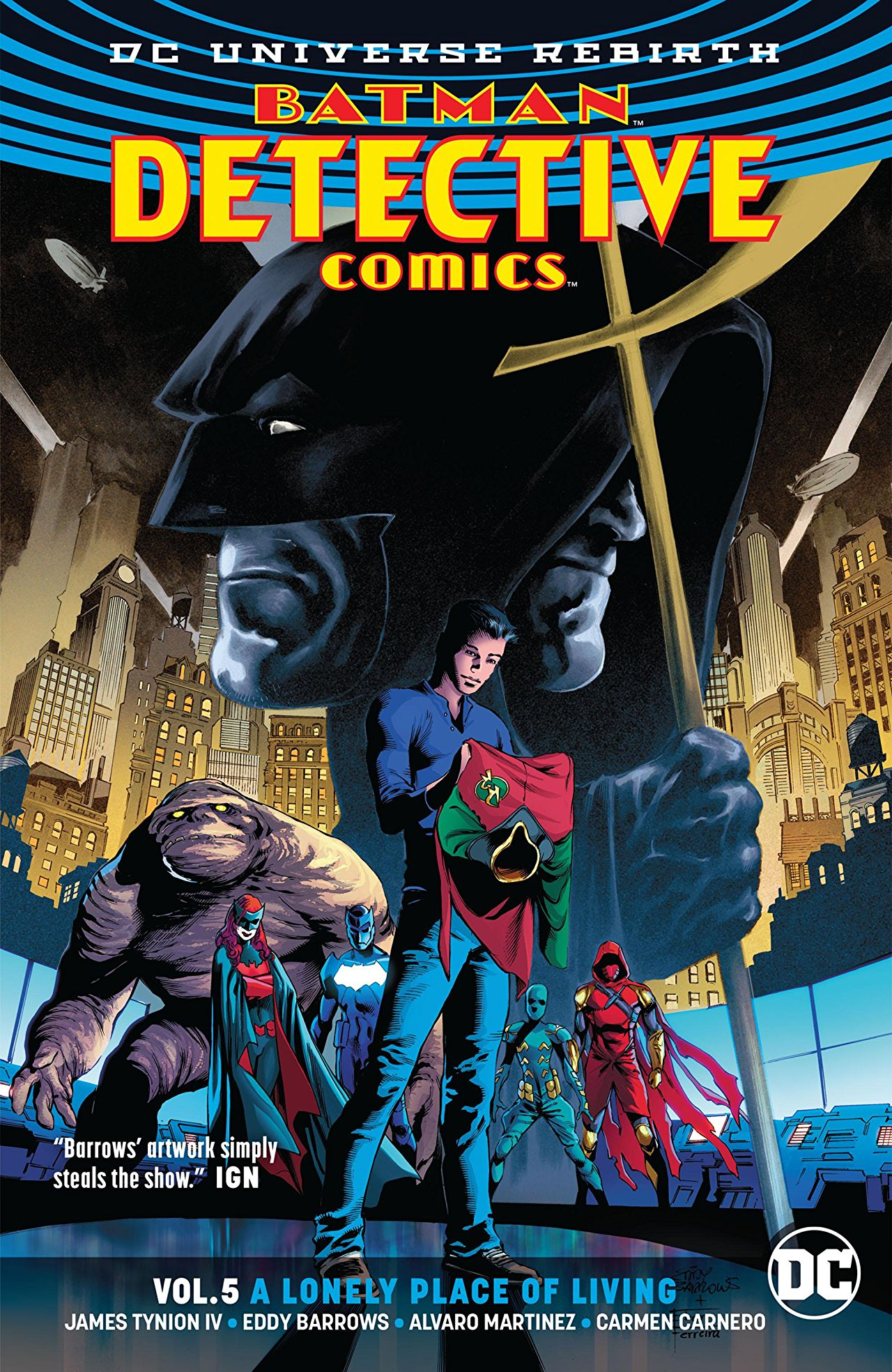 Detective Comics Vol  5: A Lonely Place of Living' is a stunning