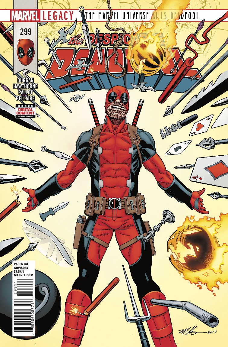 Deadpool #299 review: A hysterical and reflective setup for a landmark issue
