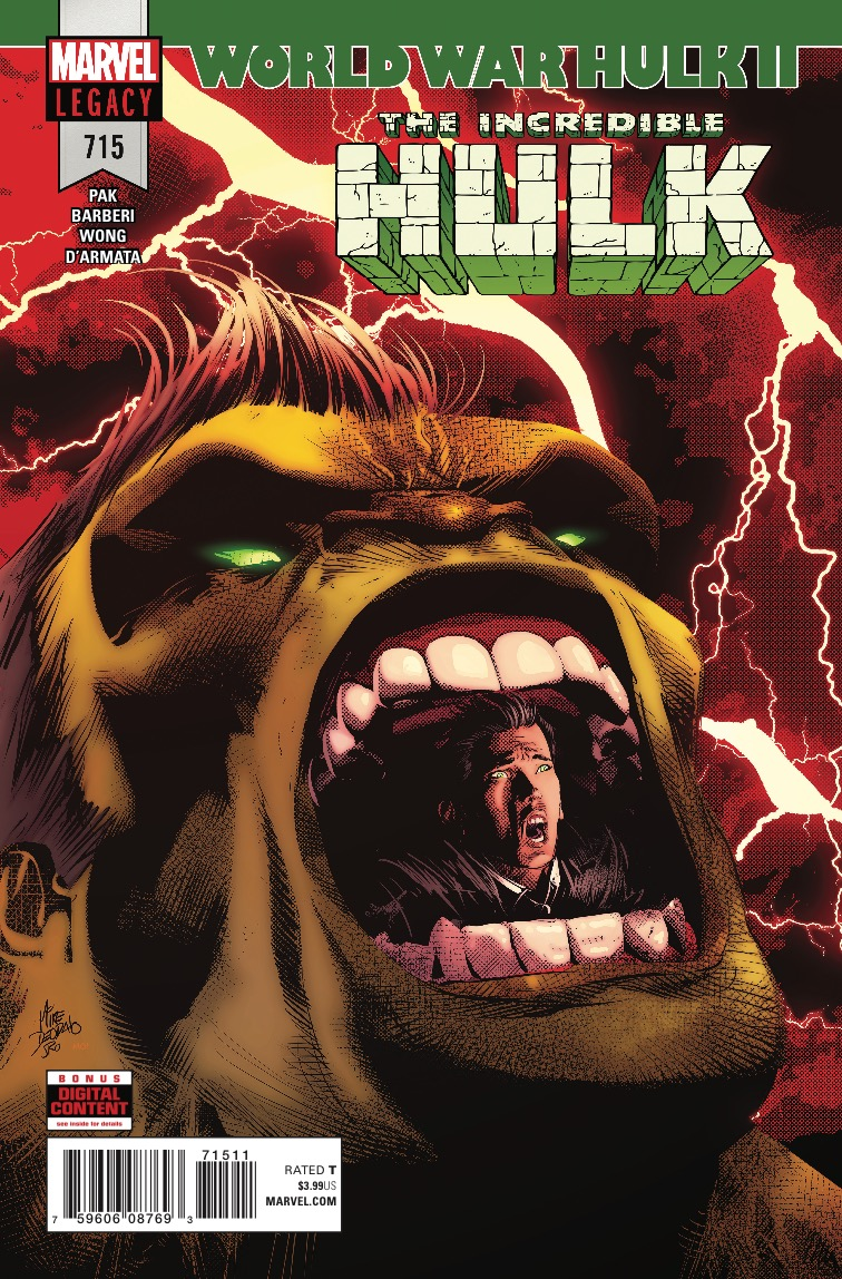 Marvel Preview: The Incredible Hulk #715