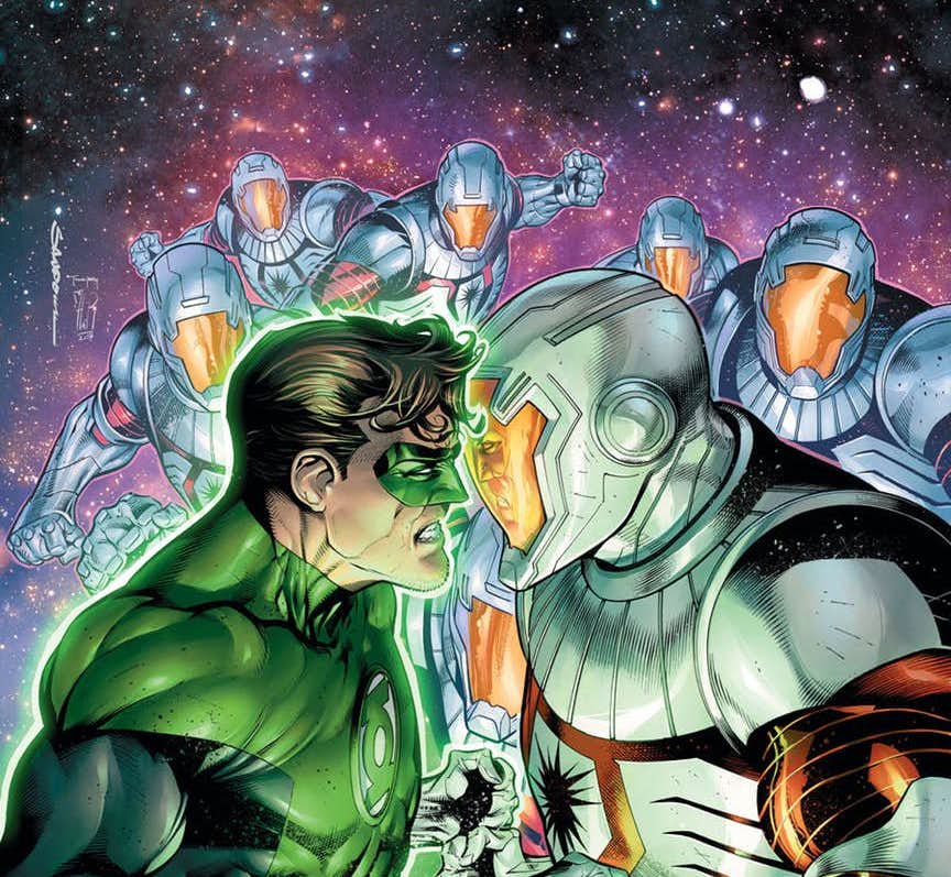 Robert Venditti talks Darkstars, post Green Lantern projects & more