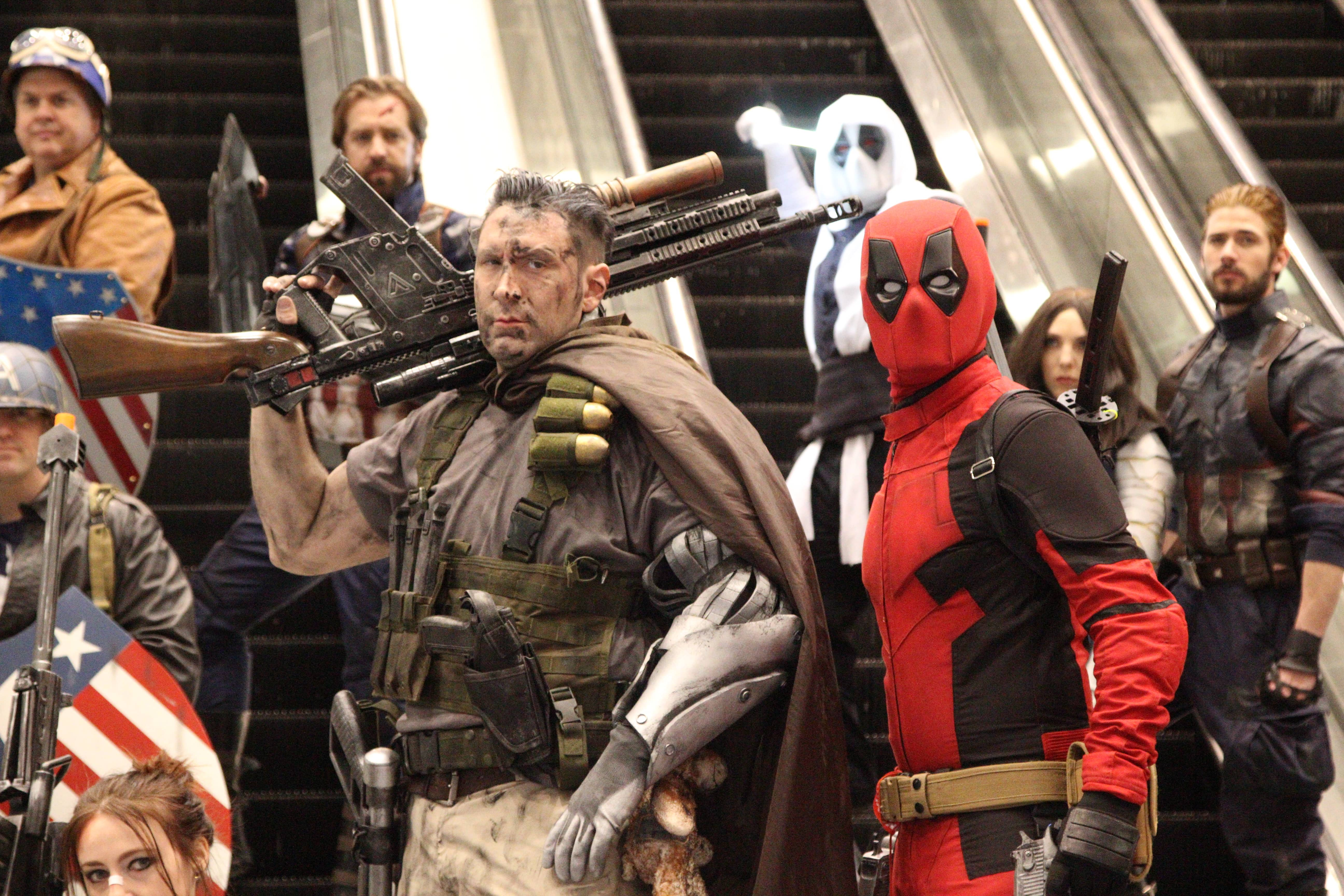 C2e2 2018 The Best Movie Anime Gaming Cosplay From The Show Floor