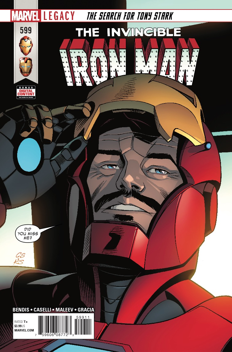 Marvel Preview: Invincible Iron Man #599