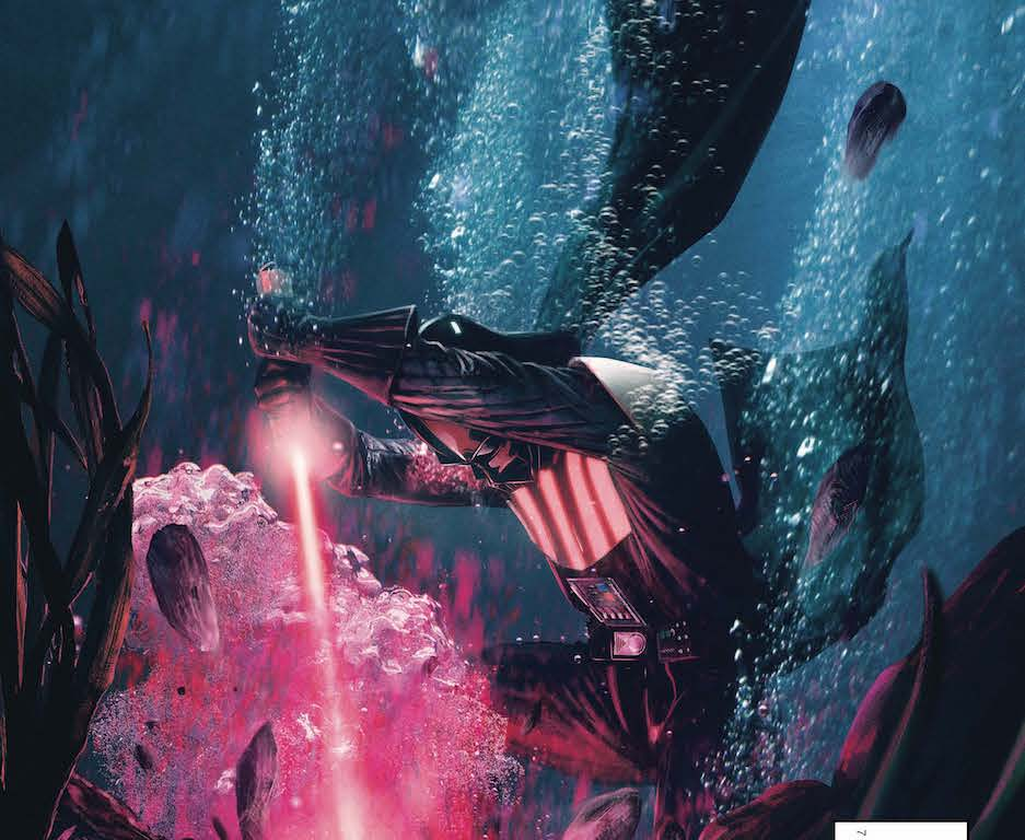 Darth Vader continues his mission to bring Mon Cala to heel! Vader goes in for some wet work in this brutal story!