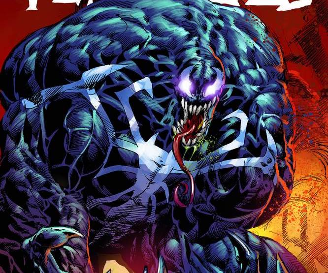 Check out the iconic Spider-Man homage from Venomized #1