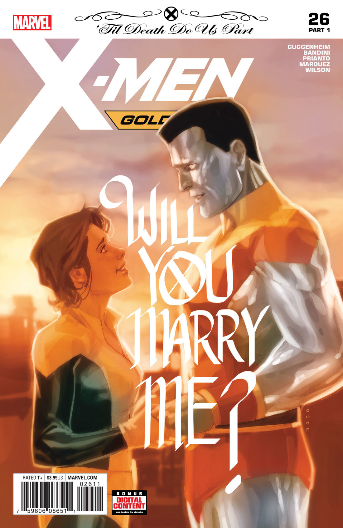 X-Men Gold #26 kicks off the Piotr and Kitty wedding hype with an issue that pits the X-Men up against Lydia Nance and her bigotry once again.