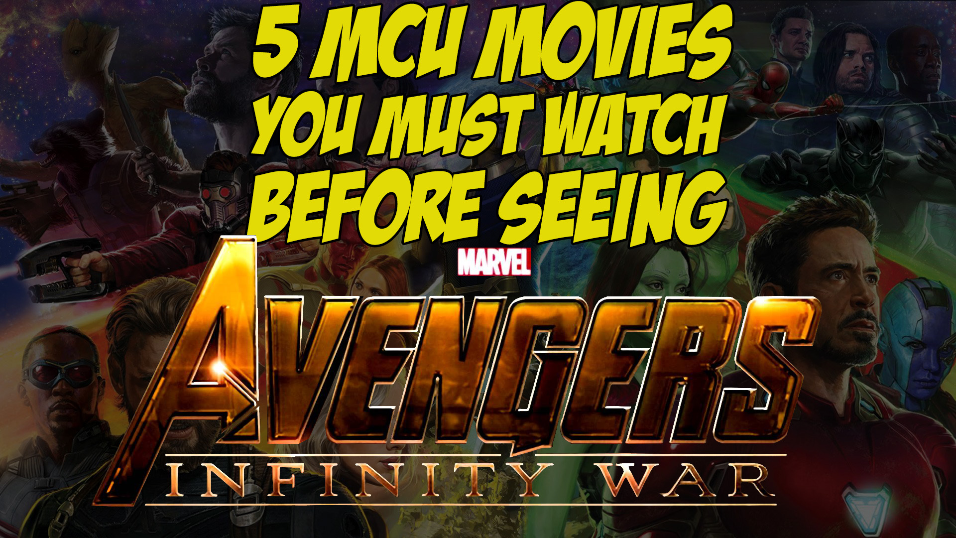 Give yourself a refresher course on the MCU.